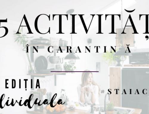25 de activități de făcut în carantină dacă ești… doar tu! #staiacasă